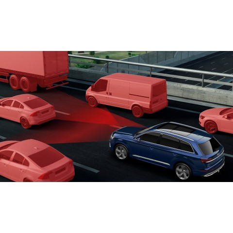 Audi Adaptive Cruise Assist with Traffic Jam Assist