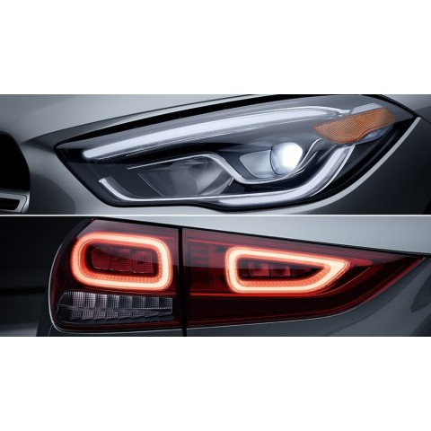 LED headlamps and taillamps