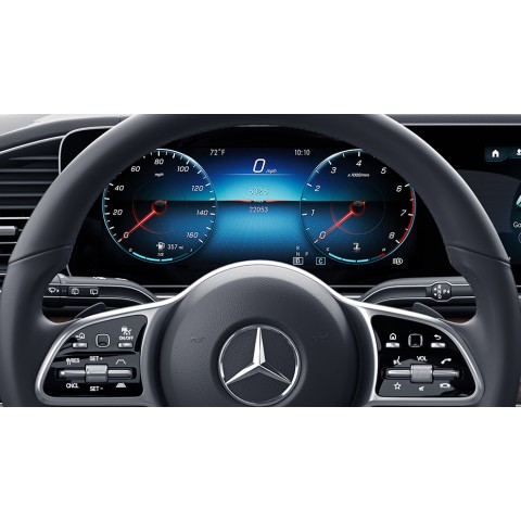 Steering wheel Touch Control Buttons